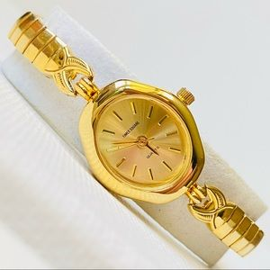Vintage Times Square Women's Gold Watch